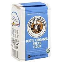 King Arthur Flour 100% Organic Unbleached Bread Flour Food Product Image