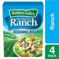 Hidden Valley Ranch Salad Dressing & Seasoning Mix - 4 CT Food Product Image
