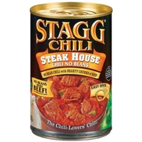Stagg Chili Steak House Chili with No Beans Food Product Image