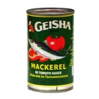 Geisha Geisha, Mackerel In Tomato Sauce With Chili Food Product Image