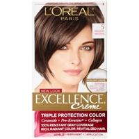L'Oreal Paris Excellence Creme Pro-Keratine 5 Medium Brown Permanent Hair Color Product Image