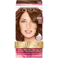 L'Oreal Paris Excellence Creme Triple Protection Color 5RB Medium Reddish Brown/Warmer Food Product Image