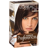 L'Oreal Paris Superior Preference Fade-Defying Color + Shine System 5 Medium Brown/Natural Food Product Image