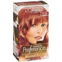 L'Oreal Paris Superior Preference Fade-Defying Color + Shine System 7LA Lightest Auburn/Warmer Product Image