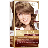 L'Oreal Paris Excellence Age Perfect, Medium Natural Brown 5N Product Image