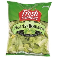 Fresh Express Hearts of Romaine Salad Food Product Image
