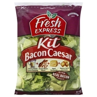 Fresh Express Salad Kit Bacon Caesar Food Product Image