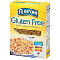 Ronzoni Gluten Free Elbow Pasta Food Product Image