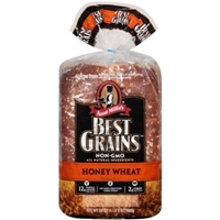Aunt Millie(')s(r) Best Grains(tm) Honey Wheat Premium Bread Premium Bread, 24 oz Food Product Image