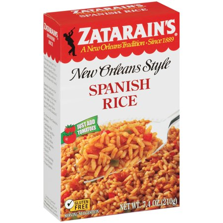 Zatarain's New Orleans Style Spanish Rice Food Product Image
