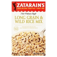Zatarain's New Orleans Style Long Grain & Wild Rice Mix Food Product Image