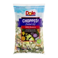 Dole Chopped Salad Kit BBQ Ranch Food Product Image