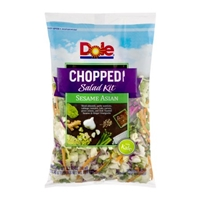 Dole Chopped Salad Kit Sesame Asian Food Product Image