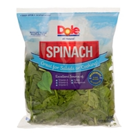 Dole Spinach Food Product Image
