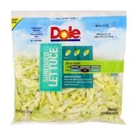 Dole Shredded Lettuce Food Product Image