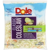 Dole Salad Classic Coleslaw Food Product Image
