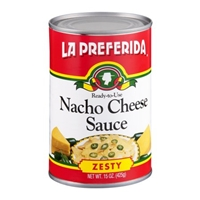 La Preferida Nacho Cheese Sauce Zesty Food Product Image