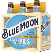 Blue Moon Seasonal Collection Summer Honey Wheat Beer - 6 CT Food Product Image