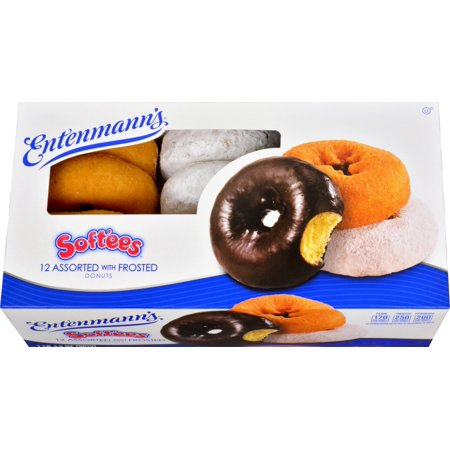Entenmann's Soft'ees Assorted with Frosted Donuts Family Pack - 12 CT Food Product Image