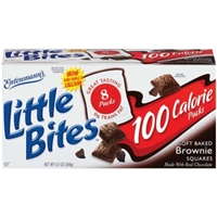 Entenmann's Brownie Squares Soft Baked, 100 Calorie Food Product Image