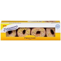 Entenmann's Donuts Donuts Lemon Crumb Food Product Image