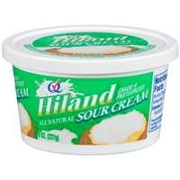 Hiland Dairy Sour Cream Food Product Image
