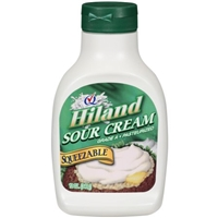 Hiland Sour Cream Squeezable Food Product Image