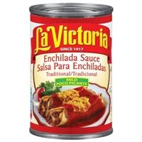 La Victoria Traditional Mild Poco Picante Enchilada Sauce Food Product Image