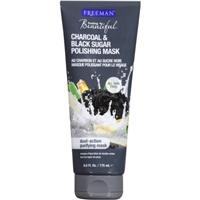 Freeman Feeling Beautiful Facial Polishing Mask Charcoal & Black Sugar Food Product Image