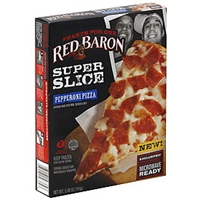 Red Baron Feasts For One Super Slice Pepperoni Pizza Food Product Image