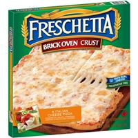Freschetta Brick Oven Crust 5 Italian Cheese Pizza Food Product Image