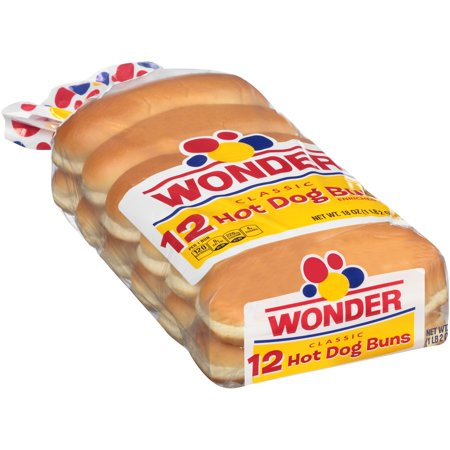 Wonder Classic Hot Dog Buns Food Product Image
