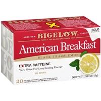 Bigelow American Breakfast Black Tea with Lemon Food Product Image