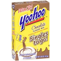 Yoo-hoo Chocolate Flavor Mix Singles to Go Food Product Image
