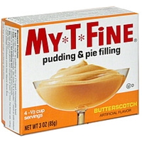 My-T-Fine Pudding & Pie Filling Butterscotch Food Product Image