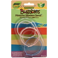 Bugables Mosquito Repellent Bands 3 ct Food Product Image