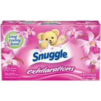 Snuggle Exhilarations Dryer Sheets Food Product Image