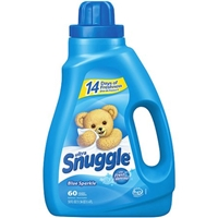 Ultra Snuggle Fabric Softener With Fresh Release Blue Sparkle - 60 Loads Food Product Image