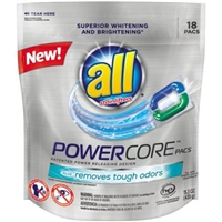 All Powercore Pacs Plus Removes Tough Odors - 18 CT Food Product Image