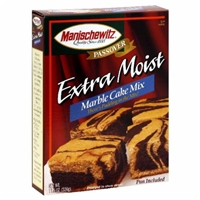 Manischewitz Extra Moist Marble Cake Mix with Frosting Food Product Image
