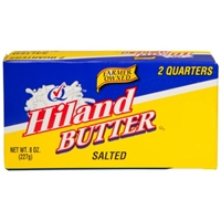 Hiland Salted Butter, 2 count, 8 oz Food Product Image