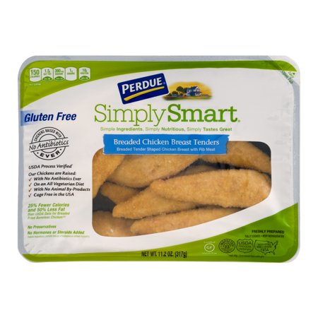 Perdue Simply Smart Breaded Chicken Breast Tenders Food Product Image