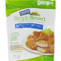 Perdue Simply Smart Lightly Breaded Chicken Nuggets Food Product Image