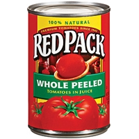 Redpack Tomatoes Whole Peeled In Juice Food Product Image