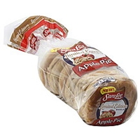 Sara Lee Bagels Pre-Sliced, Apple Pie Food Product Image