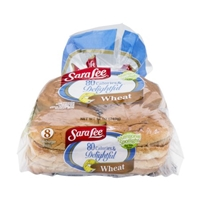 Sara Lee 80 Calories & Delightful Wheat Hamburger Buns - 8 CT Food Product Image