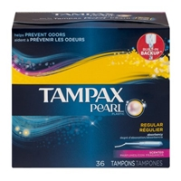 Tampax Pearl Tampons Regular Scented - 36 CT Food Product Image