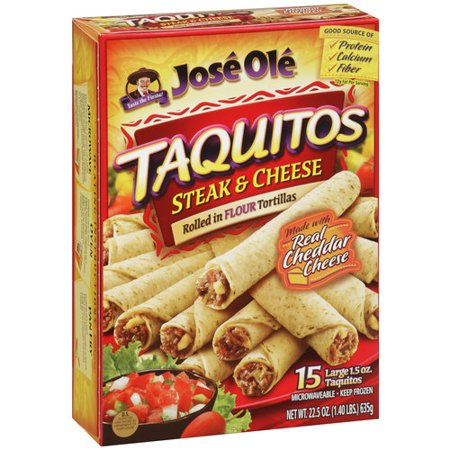 Jose Ole Taquitos Beef & Cheese Food Product Image