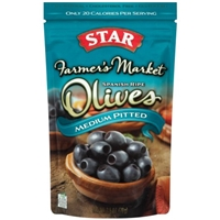 Star Olives Spanish Ripe, Medium Pitted Food Product Image