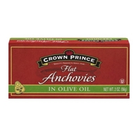 Crown Prince Flat Anchovies In Olive Oil Food Product Image